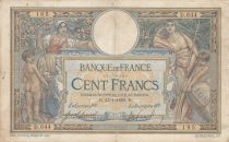 France 100 Francs Luc Olivier Merson - with LOM 23-01-1909 - Serial D.644 - F