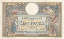 France 100 Francs Luc Olivier Merson - with LOM 29-04-1908 - Serial G.202 - VF