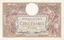 France 100 Francs Luc Olivier Merson -06-04-1933 -  Serial K.40181
