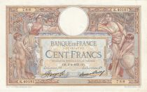 France 100 Francs Luc Olivier Merson -06-04-1933 -  Série K.40181