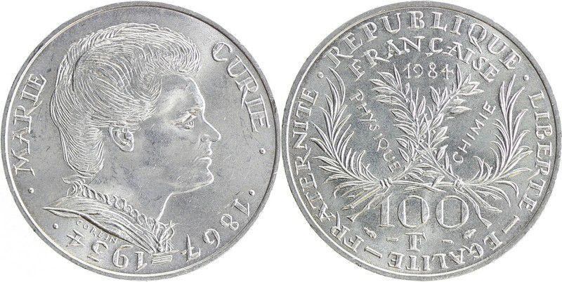 France 100 Francs Marie Curie - 1984