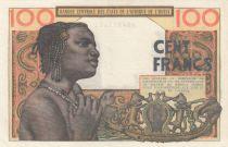 France 100 Francs mask 1959 - Serial Z.278
