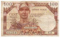 France 100 Francs Mercure, Trésor Public - 1955 - Série T.1 - TB+