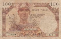 France 100 Francs ND1947 - Trésor public - Série E.1
