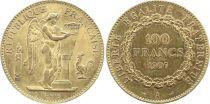 France 100 Francs Or Génie - 1907 A Paris