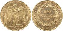 France 100 Francs Or Génie - 1909 A Paris