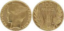 France 100 Francs Or Type Bazor - 1936