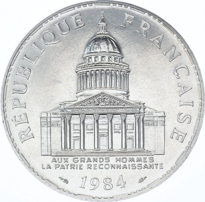 France 100 Francs Panthéon - 1984