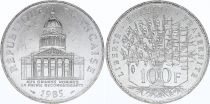 France 100 Francs Pantheon - 1985 XF to AU - Silver