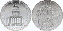 France 100 Francs Pantheon - 1986 AU - Silver