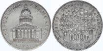 France 100 Francs Pantheon - 1987 XF - Silver