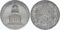 France 100 Francs Pantheon - 1987 XF - Silver