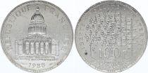 France 100 Francs Pantheon - 1988 AU - Silver