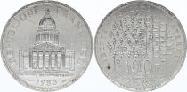 France 100 Francs Pantheon - 1988 AU - Silver