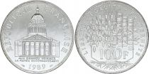 France 100 Francs Panthéon - 1989 FDC - Argent