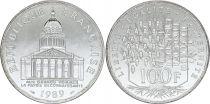 France 100 Francs Pantheon - 1989 UNC - Silver