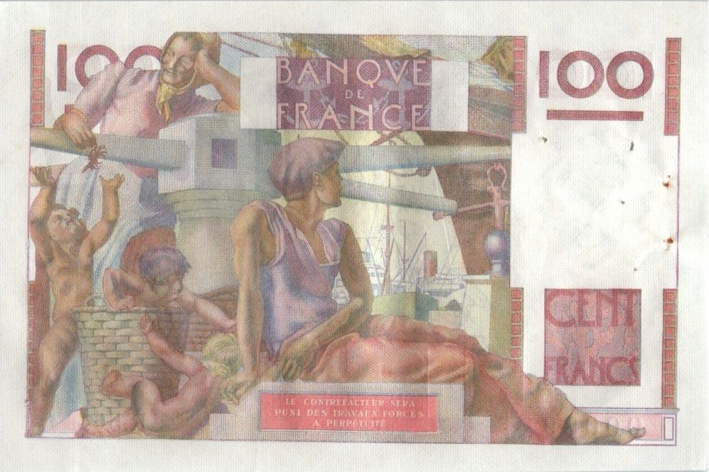 France 100 Francs Paysan - 01-10-1953 - Série R.564