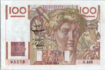 France 100 Francs Paysan - 02-10-1952 - Série A.486