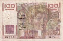 France 100 Francs Paysan - 02-10-1952 - Série Q.488 - TTB