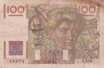 France 100 Francs Paysan - 02-10-1952 - Série S.508 - TB