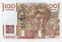 France 100 Francs Paysan - 02-10-1952 - Série Z.485