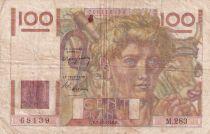 France 100 Francs Paysan - 02-12-1948 - Série M.283 - TB