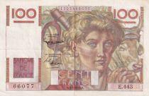 France 100 Francs Paysan - 03-04-1952 - Série E.443 - TTB+