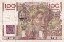 France 100 Francs Paysan - 03-04-1952 - Série T.444 - TTB
