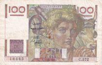 France 100 Francs Paysan - 03-12-1953 - Série C.572 - TTB