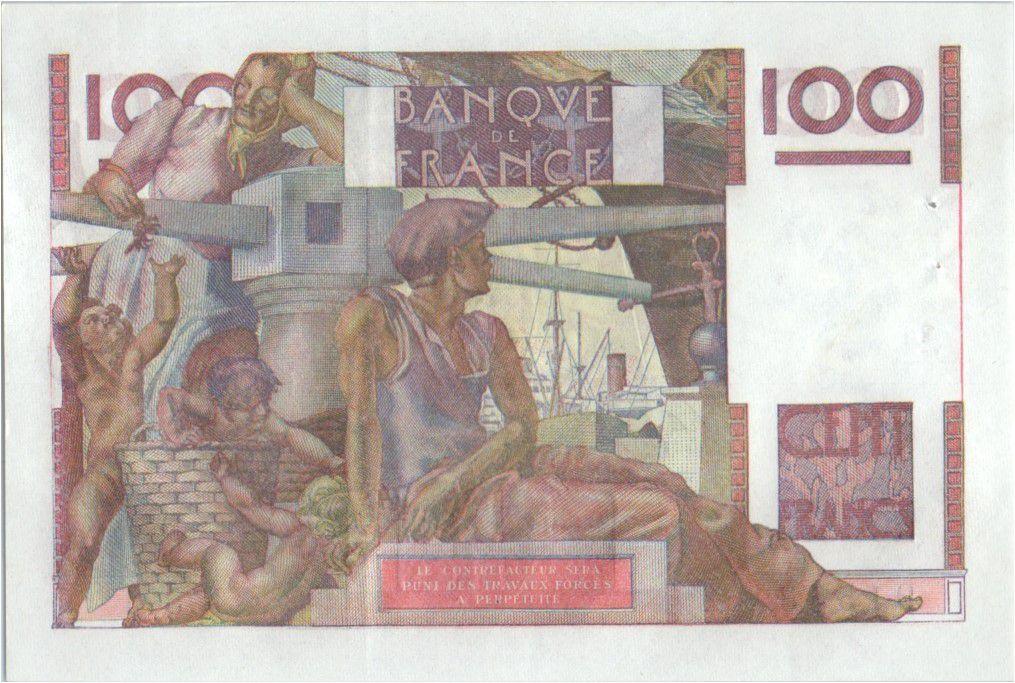 France 100 Francs Paysan - 03-12-1953 - Série N.571