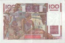 France 100 Francs Paysan - 03-12-1953 - Série Q.569