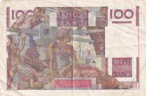 France 100 Francs Paysan - 04-06-1953 - Série B.550 - TTB
