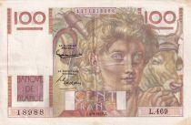 France 100 Francs Paysan - 04-09-1952 - Série L.469 - TTB