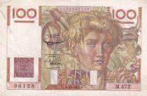France 100 Francs Paysan - 04-09-1952 - Série M.472 - TTB