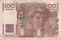 France 100 Francs Paysan - 04-09-1952 - Série N.466 - TB+