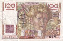 France 100 Francs Paysan - 04-09-1952 - Série W.478 - TTB