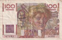 France 100 Francs Paysan - 05-02-1953 - Série D.533 - TTB
