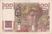 France 100 Francs Paysan - 05-02-1953 - Série W.535 - TTB