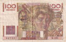France 100 Francs Paysan - 06-09-1951 - Série K.399 - TTB