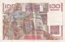 France 100 Francs Paysan - 07-02-1952 - Série S.434  - TTB+