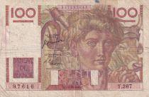 France 100 Francs Paysan - 12-10-1950 - Série Y.367 - TB