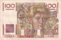 France 100 Francs Paysan - 15-04-1948 - Série T.244- SUP