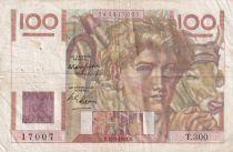 France 100 Francs Paysan - 17-02-1949 - Série T.300 - TTB