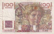 France 100 Francs Paysan - 17-02-1949 - Série U.300 - TTB