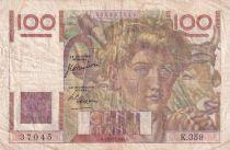 France 100 Francs Paysan - 24-08-1950 - Série K.359 - TTB