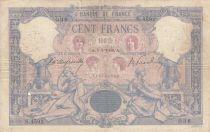 France 100 Francs Rose et Bleu - 05-07-1906 Série S.4592 - TB