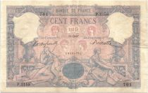 France 100 Francs Rose et Bleu - 1897