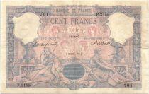 France 100 Francs Rose et Bleu - 1897