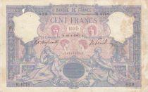 France 100 Francs Rose et Bleu - 23-01-1907 Série H.4778 - TB+