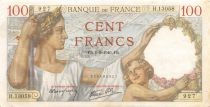 France 100 Francs Sully - 01-08-1940 Serial H.13058 - VF